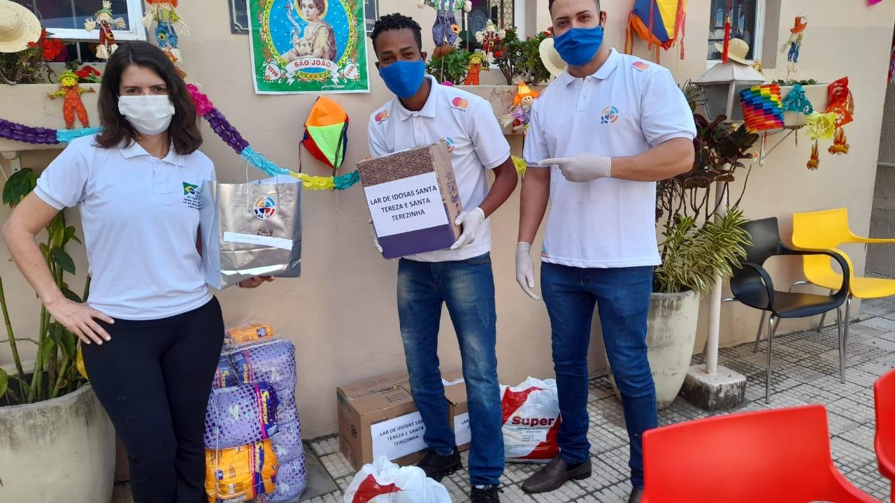 Read more about the article IPPE faz doações a  ILPI (INSTITUIÇÃO DE LONGA PERMANÊNCIA PARA IDOSOS) em BH